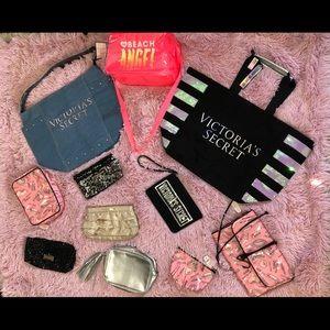 11 VIctoria's Secret bags, 5 NWT